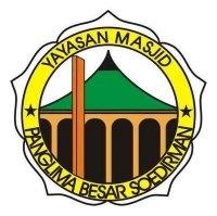Logo Yayasan Masjid Panglima Besar Soedirman