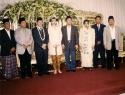 Anas Wedding No 2 dari kiri Husein Soeropranoto, No 5 Fuad Bawazier, No 8 Sutrisno Bachir