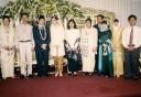 Anas Wedding No 2 dari kiri Taruna Ikrar paling kanan U Aziz Muslim