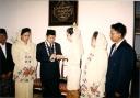 Anas Wedding Tukar Cincin