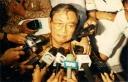 Dies Natalis HMI 1999 Cak Nur di kerubut Jurnalis