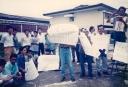foto pendamping Alfan Alfian Demo tanda x