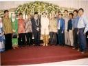 Anas Wedding dari kiri Iim, Roy Hasiru, Herlina Afdal, Afdal ZA dan paling kanan Ramdansyah