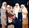 Dies Natalis HMI 1999 dari kiri Nita Basalamah, Indra Dwiki, Alfiasih Alfan Alfian, ...