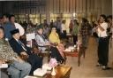 Pembukaan Kongres HMI Jambi tampak depan dari kiri Mahadi Sinambela, M Amien Rais, Alm Anniswati M Kamaluddin dan Anas
