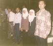 Studi Nasional Mahasiswa Indonesia April 1998 dari kanan Lukman Malanuang, Mukminati, Kristiati dan Fauzan Al Anshari