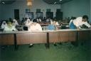 Sidang MPK I dan Pleno II PB HMI dari kiri Nadira Seha Nur, Ikhwan Mustafa, Yayat Biaro dan Fakhruddin