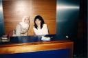 kiri ke kanan Qonita Basalamah & Siti Mariam Tawil