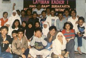 Laskar HMI Cabang Solo Komisariat Fisip UNS 1990-an koleksi foto dwiki