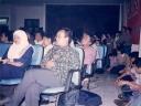 M Alfan Alfian dengan Kemeja Batik Nostalgia 50 tahun HMI