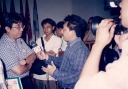 DR Imam B Prasodjo dikerubut Wartawan