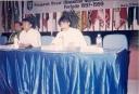Moderator Syamsul Qomar diapit SBY & DR Andi Malarangeng