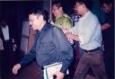 SBY tetap menebar senyum