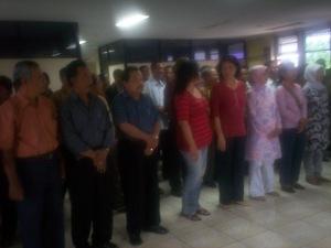 Pelantikan Ketua KPPS se-Kecamatan Pasar Rebo