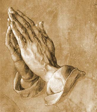 Praying Hands …