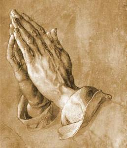 Praying Hands credit foto:www.allposters.com