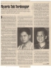 Kliping Jelang Kongres HMI Yogyakarta Majalah Gamma 1997