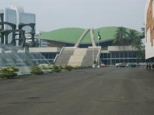 Kompleks Gedung DPR-RI Senayan Jakarta (dok pribadi)