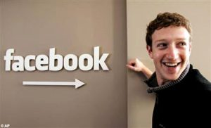 Mark Zuckerberg Pendiri Facebook (www.dailymail.co.uk)