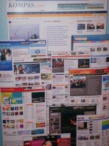 Baliho Stand  KompasCom FKI-ICS 2009 JHCC (dwiki dok files)