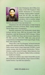 Cover Belakang Buku Menuju Masyarakat Madani Anas Urbaningrum 1997 (dwiki dok files)