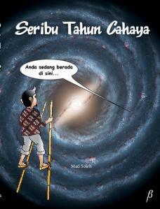 Cover Novel Seribu Tahun Cahaya (http://seributahuncahaya.multiply.com)