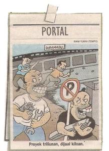 Karikatur Koran Tempo 18-6-2009