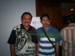 Pakde Prayitno Ramelah dan Dwiki Setiyawan (dwiki dok files)
