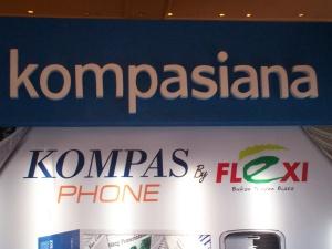Baliho di Stand  Kompasiana FKI-ICS 2009 JHCC Jakarta (dwiki dok files)
