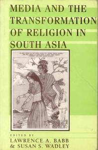 Cover Buku Media dan Transformasi Agama di Asia Selatan (www.infibeam.com)