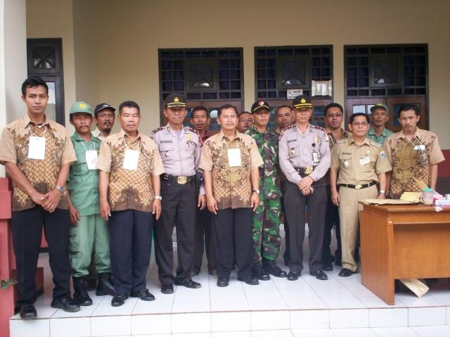 Kunjungan Lapangan Pilpres Muspika Pasar Rebo Jakarta Timur (dwiki dok)