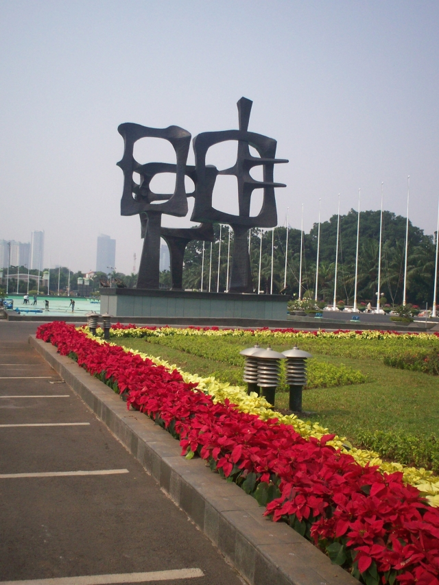 Patung Melambangkan Penjelmaan Manusia