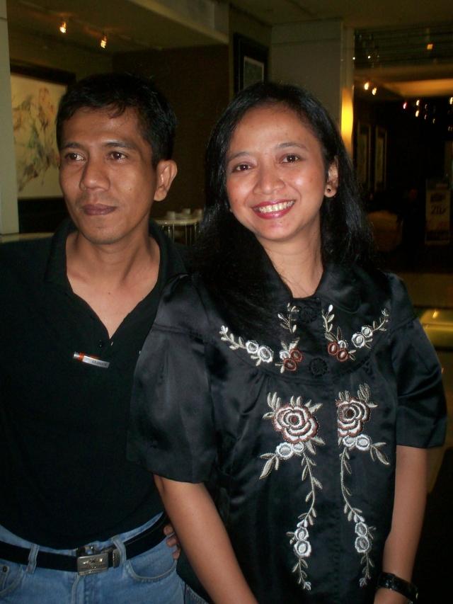 Ahmad Zainul Ihsan Arif dan Bernadetta Yorita (dwiki dok)