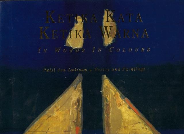 Cover Ketika Kata Ketika Warna Puisi dan Lukisan