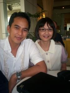 Mesra: Indraputra dan Lintang Blogger Kompasiana (dwiki dok)