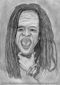 Karikatur Mbah Surip (http://karikatur-selebriti-indonesia.blogspot.com)