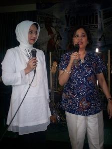 Duet Menghanyutkan: Marissa Haque dan Linda Djalil (dwiki dok)