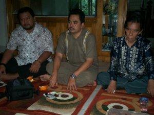 Reuni Alumni HMI di Kediaman Ahmad Zabadi paling kiri Yanuar Ahmad (dwiki dok)