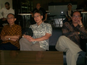 Peluncuran Buku Chappy Hakim dan Peserta Kopdar III Kompasiana 06 (dwiki dok)