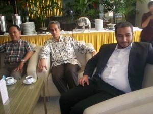 Peluncuran Buku Chappy Hakim dan Peserta Kopdar III Kompasiana 08 (dwiki dok)