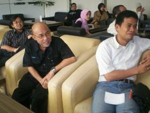 Peluncuran Buku Chappy Hakim dan Peserta Kopdar III Kompasiana 23 (dwiki dok)