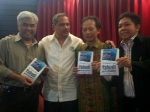 Taufik Mihardja, Chappy Hakim, Pepih Nugraha dan Effendi Gazali (dwiki dok)