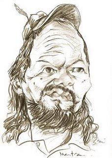 Karikatur-Sutardji-Calzoum-Bachri (http://caricartoon.blogspot.com)
