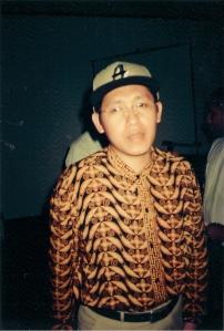 Anas Urbaningrum 1999 (Dok Pribadi Dwiki)