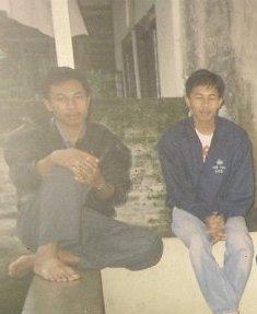 dari kiri Yudo Pramono dan Dwiki Setiyawan
