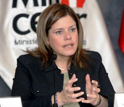Mercedes Araoz (www.chinadaily.com.cn)