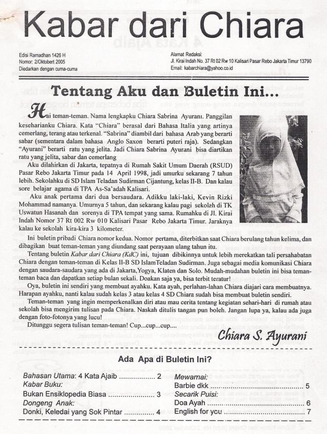 Buletin Kabar dari Chiara (dwiki file)