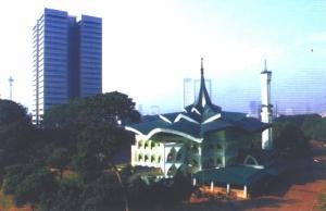 Masjid Baitirrahman Kompleks DPR-RI (http://web.dpr.go.id)