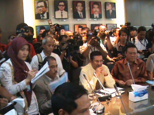 Pertemuan Konsultasi DPP Partai Golkar di Ruang Rapat FPG DPR-RI (Koleksi Pribadi)