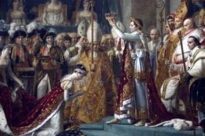 Napoleon Bonaparte dan Josephine di Katedral Notre-Dame Paris 2 Desember 1804 (www.wikipedia.com)